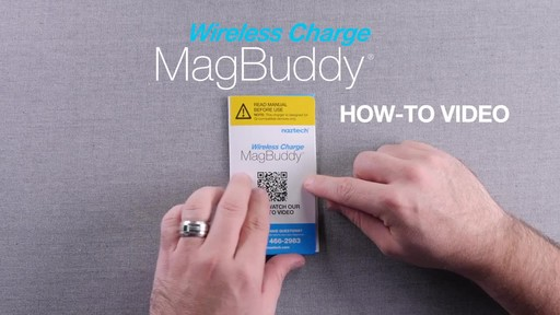 How to Set up Naztech MagBuddy  - image 1 from the video