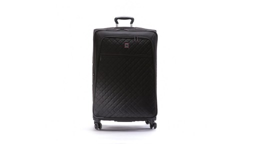 Delsey Quilted Expandable Spinner Exclusive Luggage - image 1 from the video