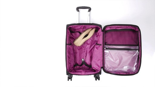 Delsey Quilted Expandable Spinner Exclusive Luggage - image 4 from the video