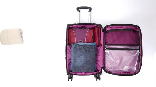 Delsey Quilted Expandable Spinner Exclusive Luggage - image 6 from the video