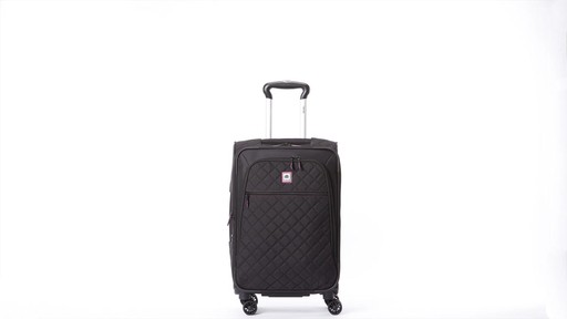 Delsey Quilted Expandable Spinner Exclusive Luggage - image 8 from the video