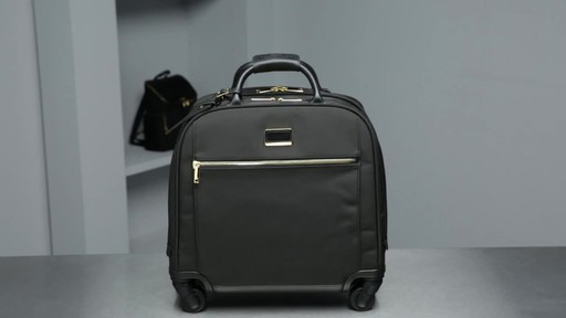 Tumi Larkin Simone Compact Carry-On - image 10 from the video