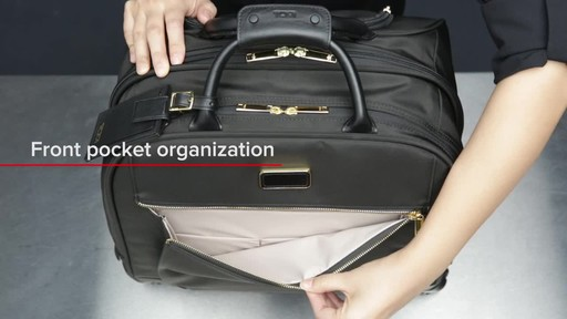 Tumi Larkin Simone Compact Carry-On - image 4 from the video