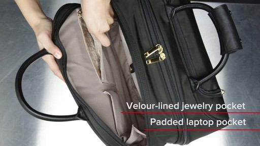 Tumi Larkin Simone Compact Carry-On - image 9 from the video