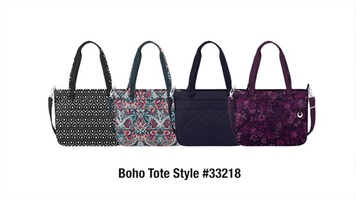 Travelon Anti-Theft Boho Tote - image 10 from the video