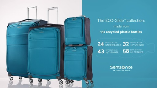 Samsonite Eco-Glide Collection - image 1 from the video
