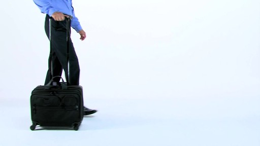 Tumi Alpha 2 4 Wheeled Deluxe Brief with Laptop Case - Shop eBags.com - image 1 from the video