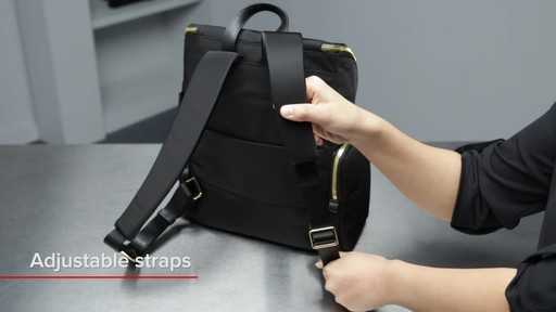 Tumi Voyageur Lexa Zip Flap Backpack - image 2 from the video