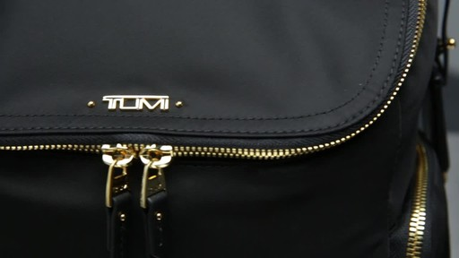 Tumi Voyageur Lexa Zip Flap Backpack - image 9 from the video