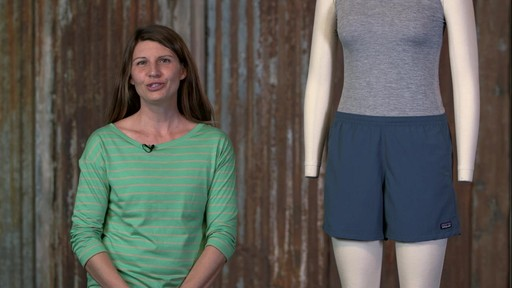 Patagonia Womens Baggies Shorts - image 10 from the video