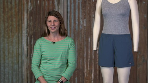 Patagonia Womens Baggies Shorts - image 2 from the video