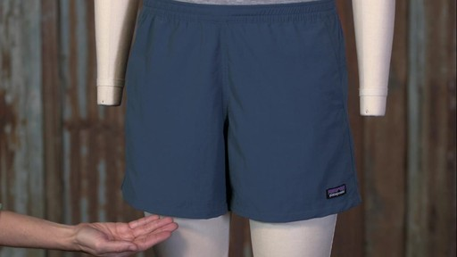 Patagonia Womens Baggies Shorts - image 9 from the video