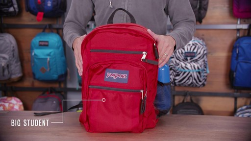 JanSport Big Student Backpack - eBags.com - image 1 from the video