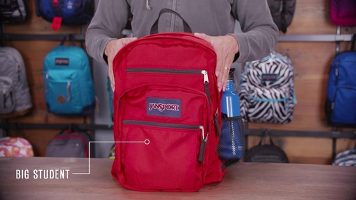 JanSport Big Student Backpack - eBags.com - image 10 from the video
