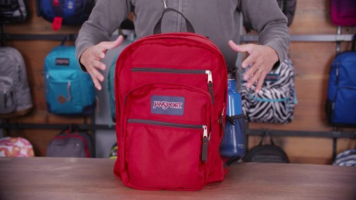 JanSport Big Student Backpack - eBags.com - image 4 from the video