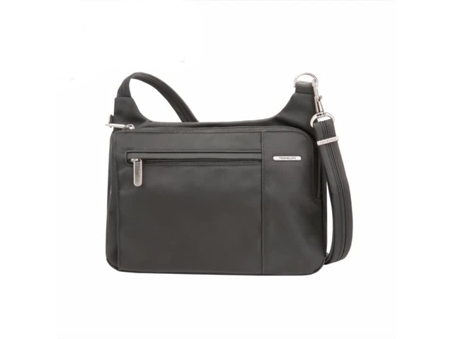Travelon Anti-Theft Welted Asymmetric East/West Crossbody - Exclusive - image 1 from the video