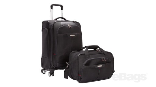Samsonite Elite Spinner & Laptop Boarding Bag Set EXCLUSIVE - eBags.com - image 1 from the video