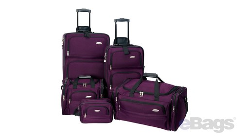 Samsonite Elite Spinner & Laptop Boarding Bag Set EXCLUSIVE - eBags.com - image 10 from the video