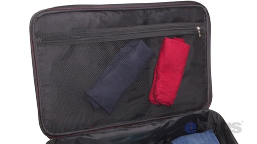 Samsonite Elite Spinner & Laptop Boarding Bag Set EXCLUSIVE - eBags.com - image 8 from the video