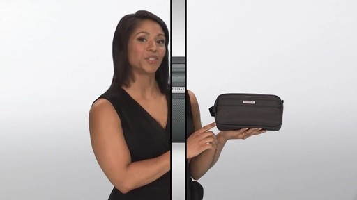 Briggs & Riley Transcend VX Toiletry Kit - image 1 from the video