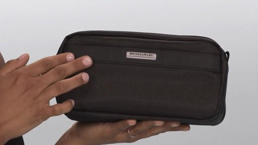 Briggs & Riley Transcend VX Toiletry Kit - image 3 from the video
