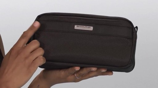 Briggs & Riley Transcend VX Toiletry Kit - image 5 from the video