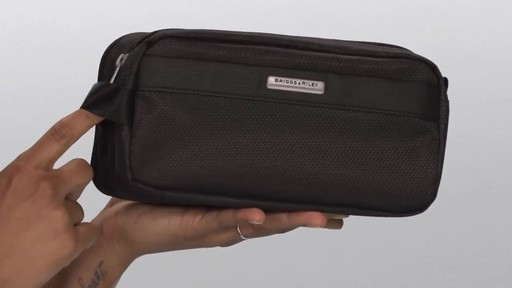Briggs & Riley Transcend VX Toiletry Kit - image 6 from the video