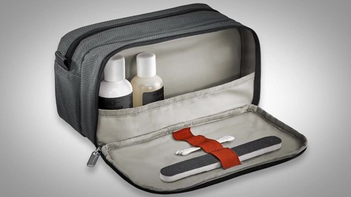 Briggs & Riley Transcend VX Toiletry Kit - image 9 from the video