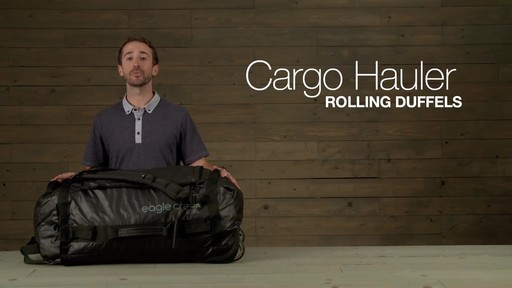 Eagle Creek Cargo Hauler Rolling Duffel - image 1 from the video