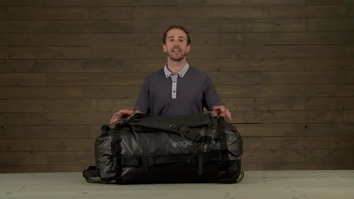 Eagle Creek Cargo Hauler Rolling Duffel - image 10 from the video