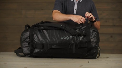 Eagle Creek Cargo Hauler Rolling Duffel - image 6 from the video