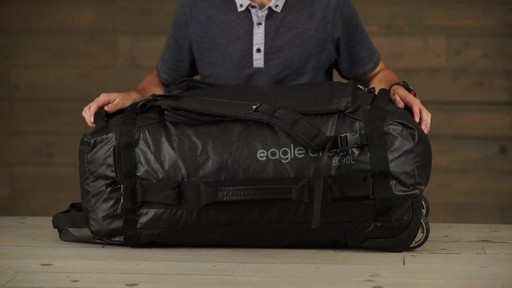 Eagle Creek Cargo Hauler Rolling Duffel - image 9 from the video