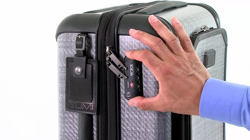 Tumi Tegra-Max International Expandable Traveler  - eBags.com - image 9 from the video