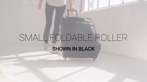 Vera Bradley Small Foldable Roller - image 1 from the video