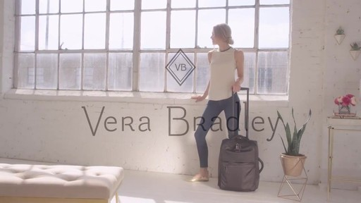 Vera Bradley Small Foldable Roller - image 10 from the video