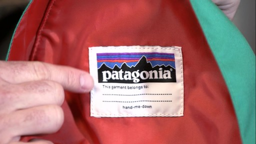 Patagonia Kids' Bonsai Pack 14L - image 9 from the video