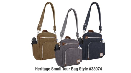 Travelon Anti-Theft Heritage Tour Bag - eBags.com - image 10 from the video