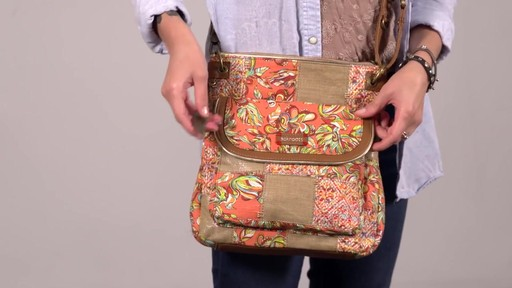Sakroots Artist Circle Flap Crossbody - image 3 from the video