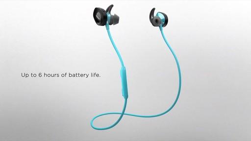 Bose SoundSport Wireless Headphones - Shop eBags.com - image 6 from the video