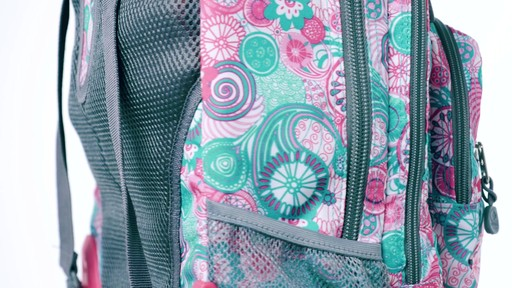 J World New York Sundance Laptop Rolling Backpack - on eBags.com - image 1 from the video