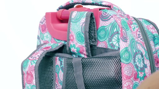 J World New York Sundance Laptop Rolling Backpack - on eBags.com - image 6 from the video
