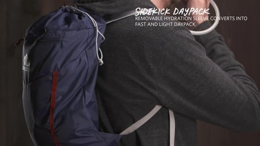 Gregory Men's Baltoro Packs - image 5 from the video