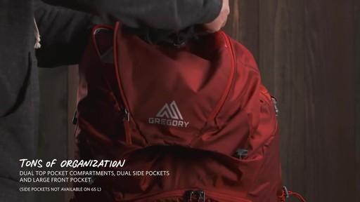 Gregory Men's Baltoro Packs - image 8 from the video