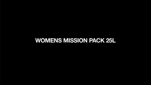 DAKINE - Women's Mission 25L Backpack   - image 1 from the video