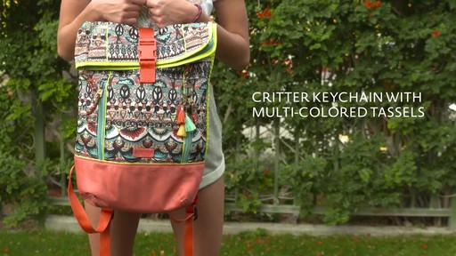 3fc9f94f22 Sakroots Kota Vista Rolltop Backpack - image 3 from the video