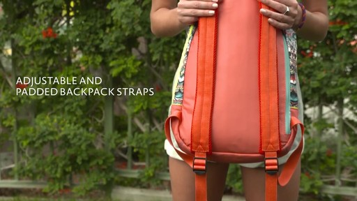 e3069e5d01 Sakroots Kota Vista Rolltop Backpack - image 6 from the video