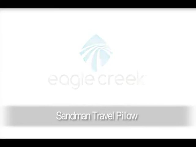 Eagle Creek Sandman Travel Pillow - image 1 from the video