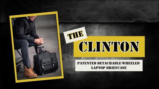 McKlein USA Clinton Nylon Detachable Wheeled 17
