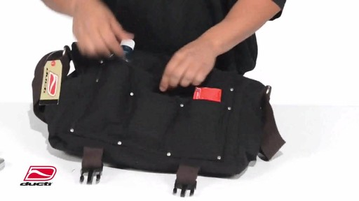 Ducti Stop Laptop Messenger - image 6 from the video