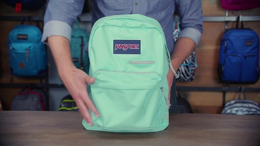 JanSport - Digibreak Laptop Backpack - image 3 from the video